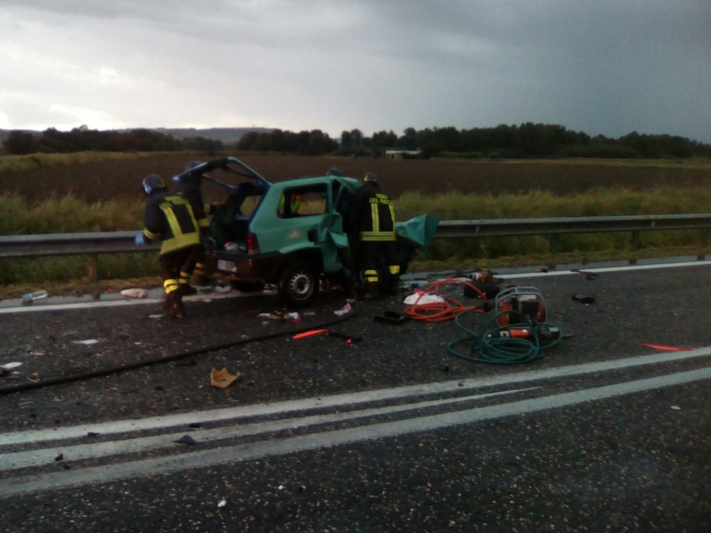 Schianto mortale sulla Bifernina, arrestato il conducente della 147