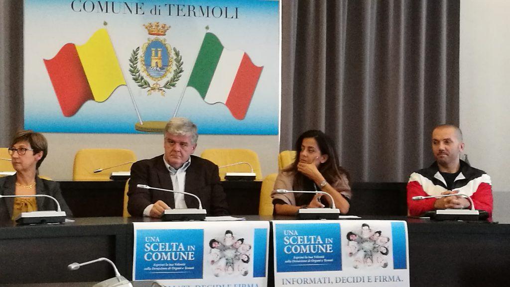 """A Termoli donare gli organi può essere """"Una scelta in Comune"""""""