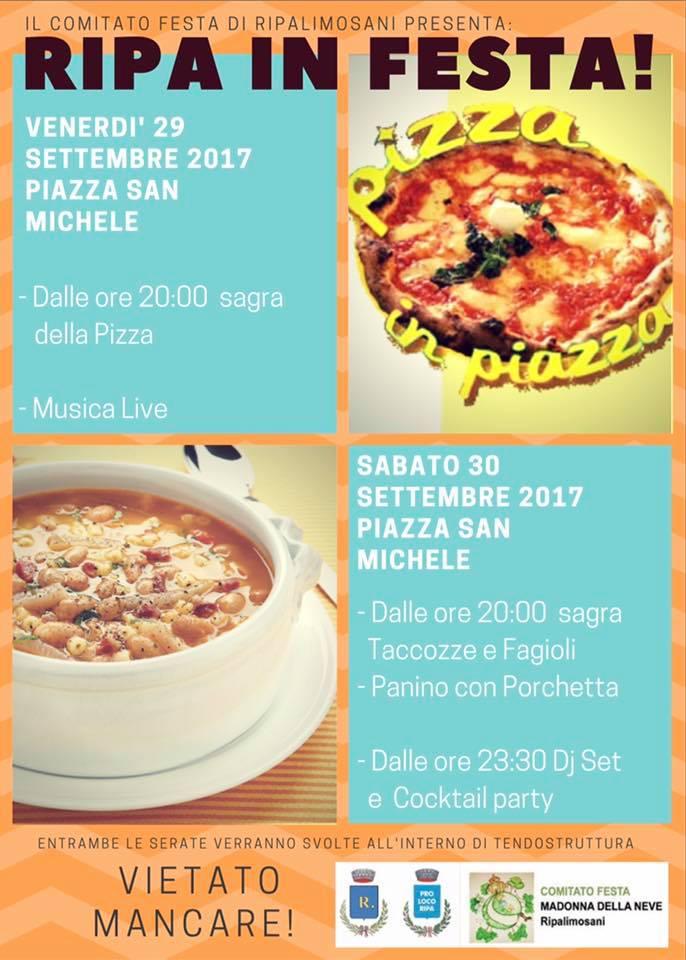 A Ripalimosani un ricco weekend tra fede, cibo e musica in onore di San Michele
