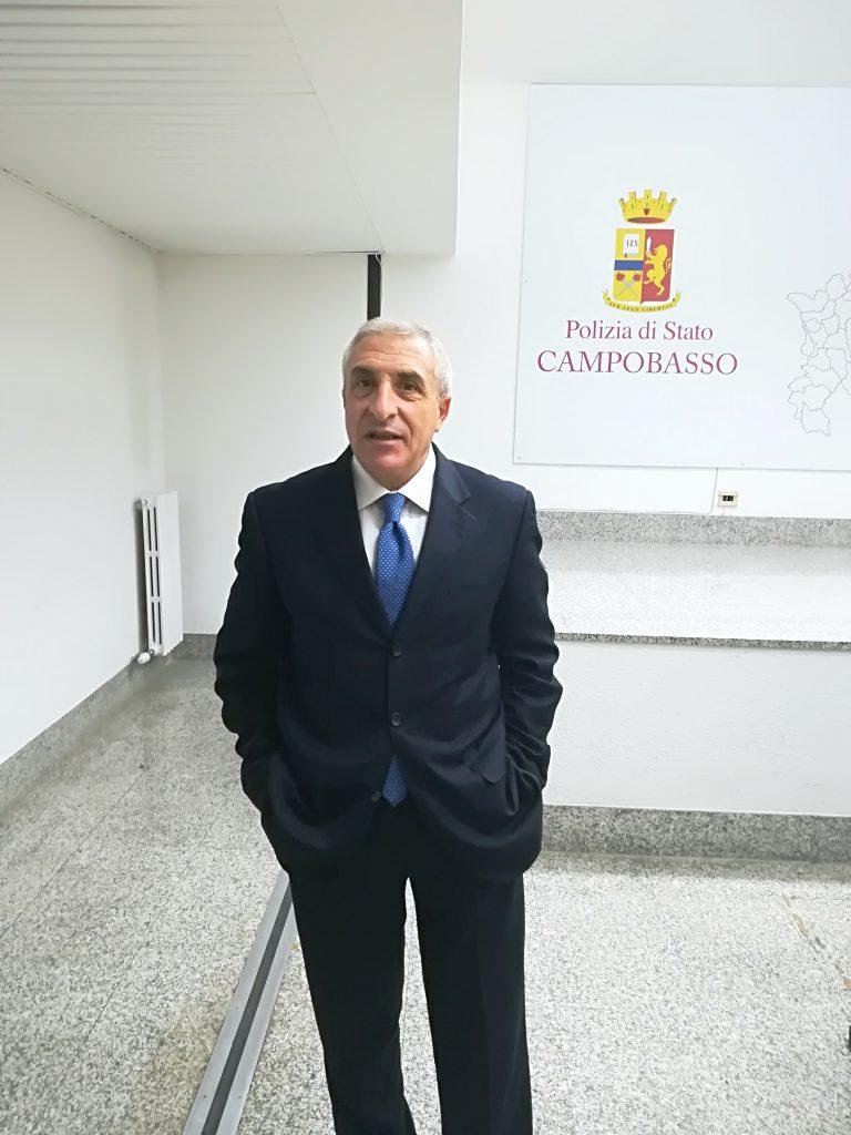 «La criminalità si combatte con la prevenzione», la mission del nuovo questore di Campobasso