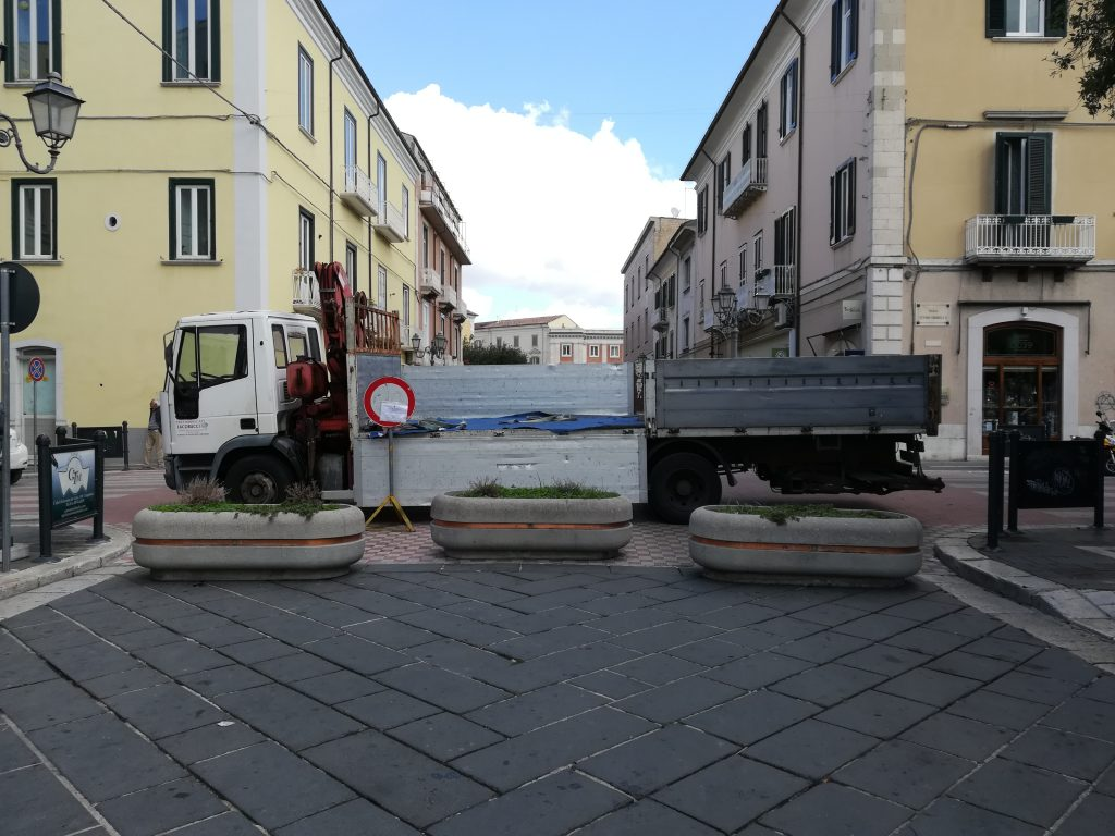 Misure antiterrorismo a Campobasso, 'blindato' anche Corso Vittorio Emanuele