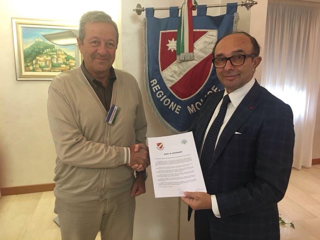 Palazzo D'Aimmo e Isde alleati, firmata la convenzione per lo studio epidemiologico