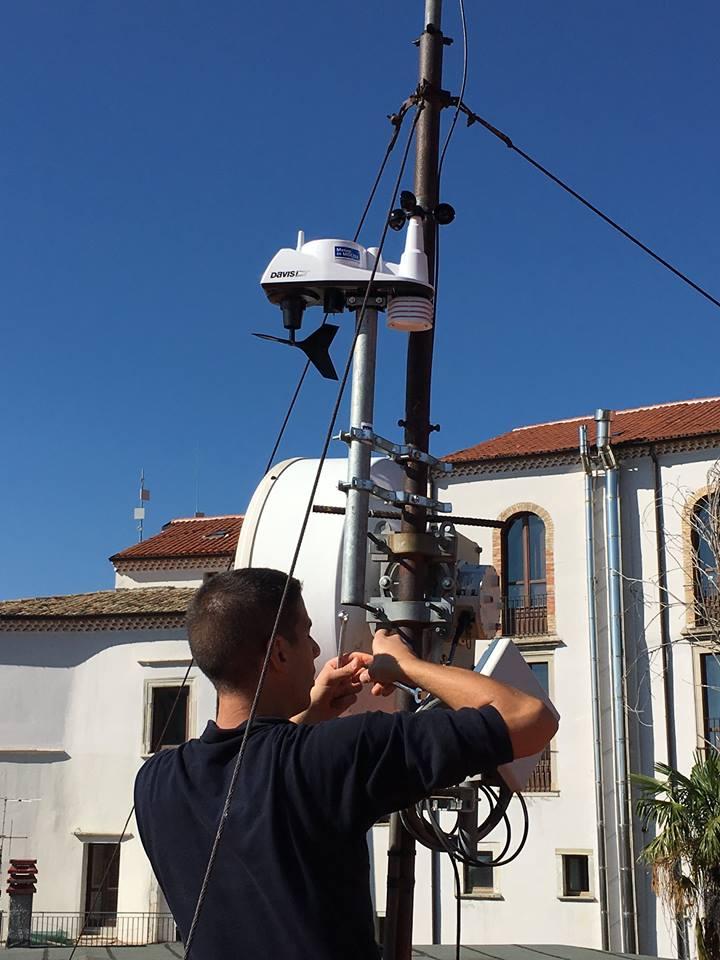 Stazione meteo e webcam, lavori in corso ad Agnone