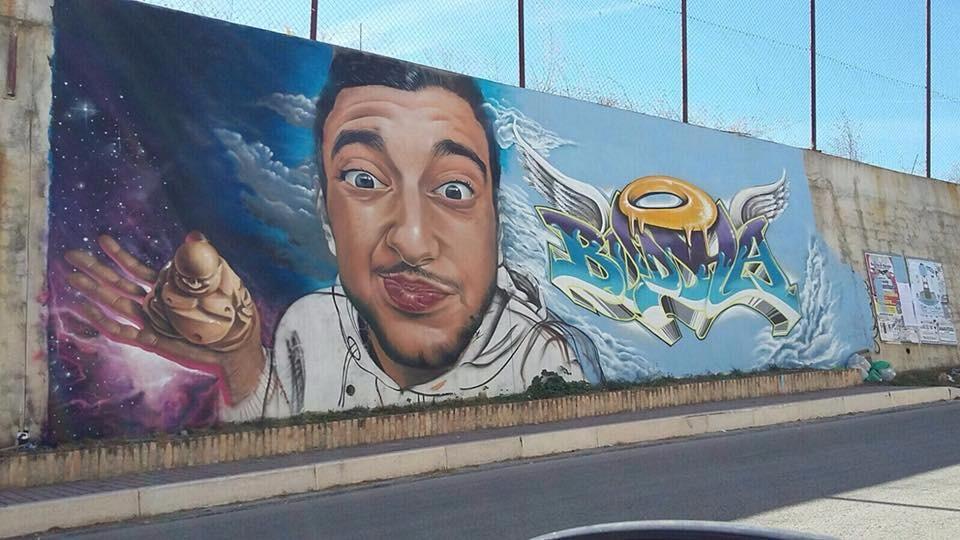 Campodipietra, un murales per ricordare Gianmichele Panichella