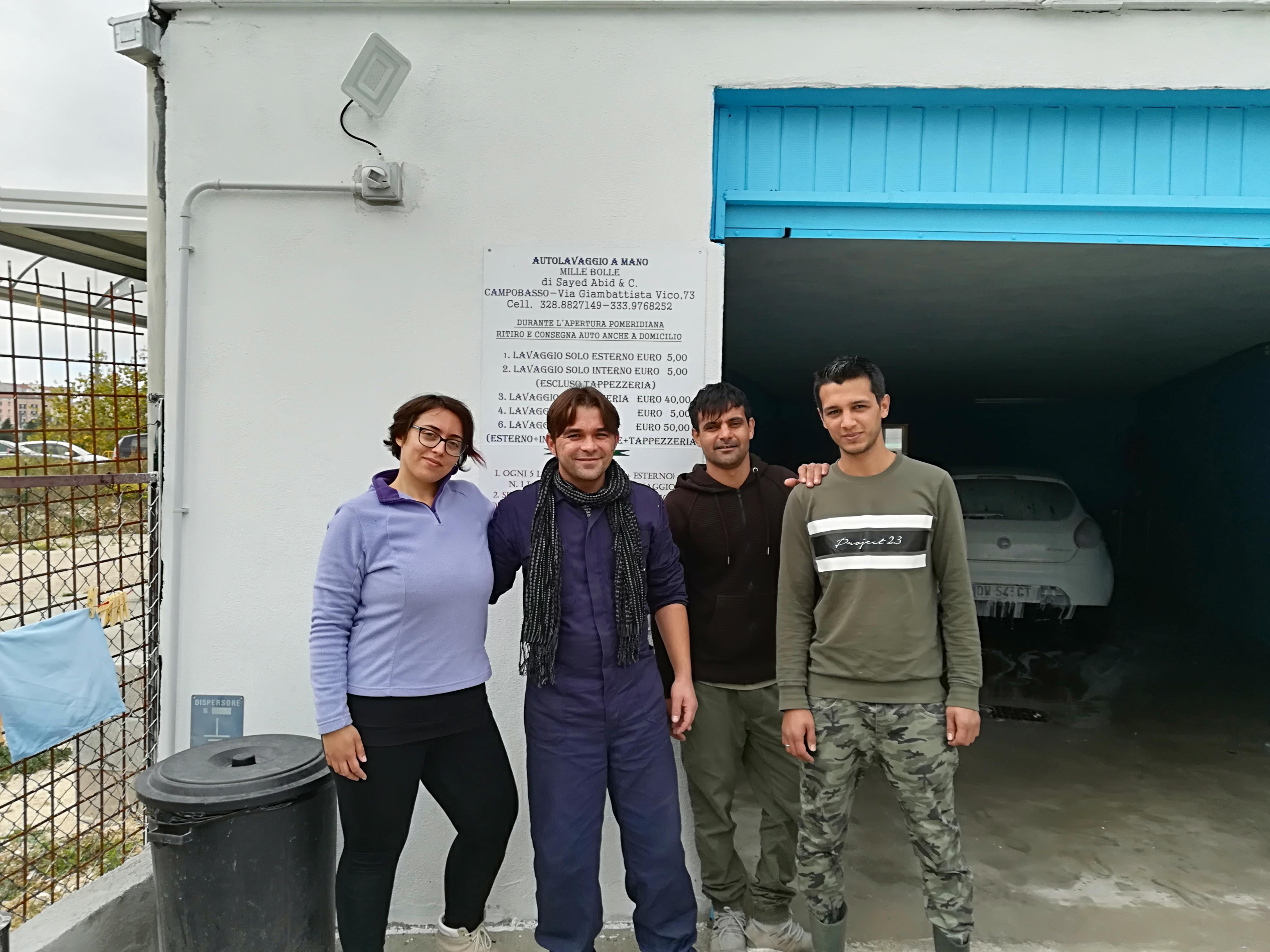 Dall accoglienza al mondo del lavoro tre afghani puntano sul Molise TeleRegione Molise