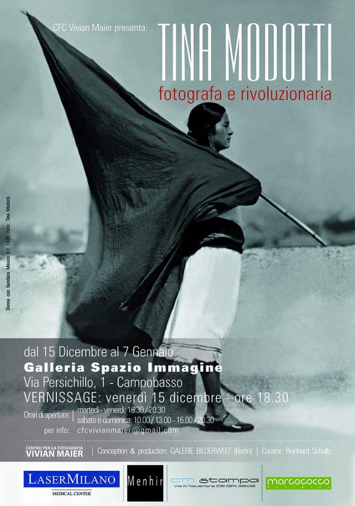 """A Campobasso inaugurazione della mostra """"Tina Modotti-fotografa e rivoluzionaria"""""""