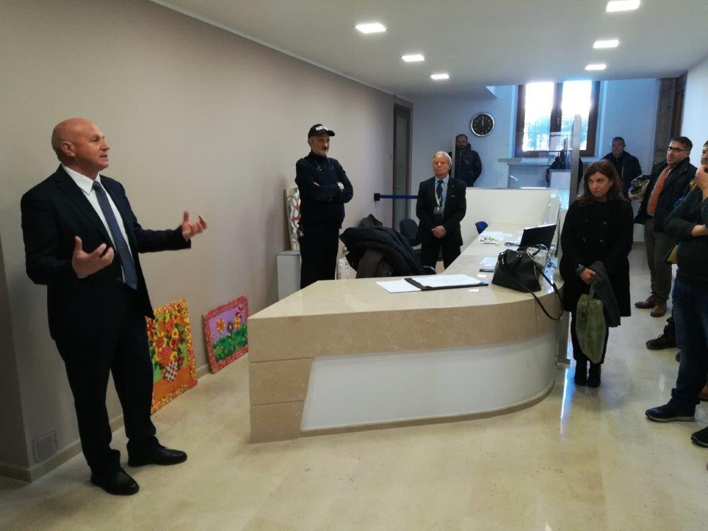 Addio alle barriere  architettoniche, il Municipio di Campobasso ora è accessibile a tutti