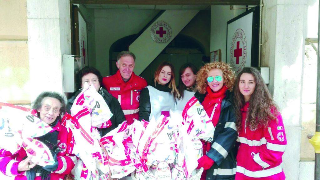 Successo per le uova di Pasqua della Croce Rossa, a Campobasso vince la solidarietà