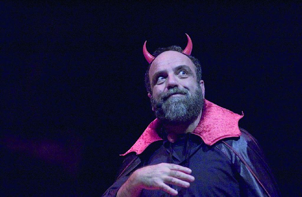 All'auditorium di Isernia l'inferno di Dante secondo Covatta