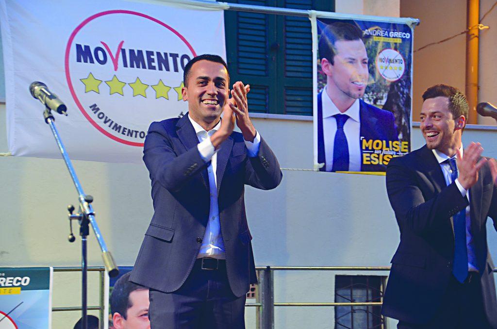 Regionali, parla Di Maio «Daremo al Molise il futuro che merita»