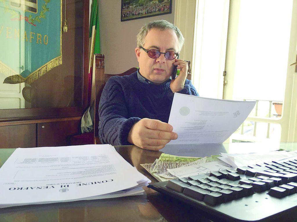 Venafro, il sindaco Sorbo: l'amministrazione merita 10 in pagella