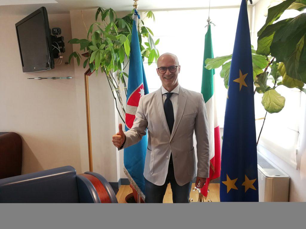 Prima mission istituzionale all'estero, il presidente Toma a Bruxelles a caccia di fondi