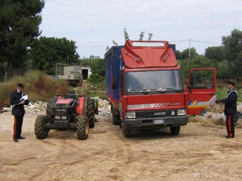 Coldiretti: i furti nelle campagne fruttano 300 milioni di euro