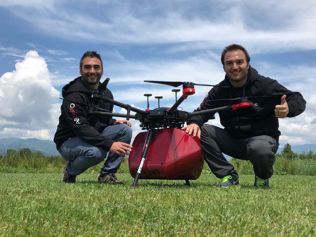 Parte la missione salvavita del drone tutto isernino