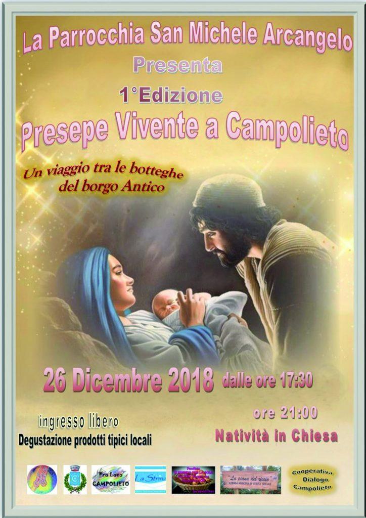 A Campolieto la prima edizione del Presepe vivente