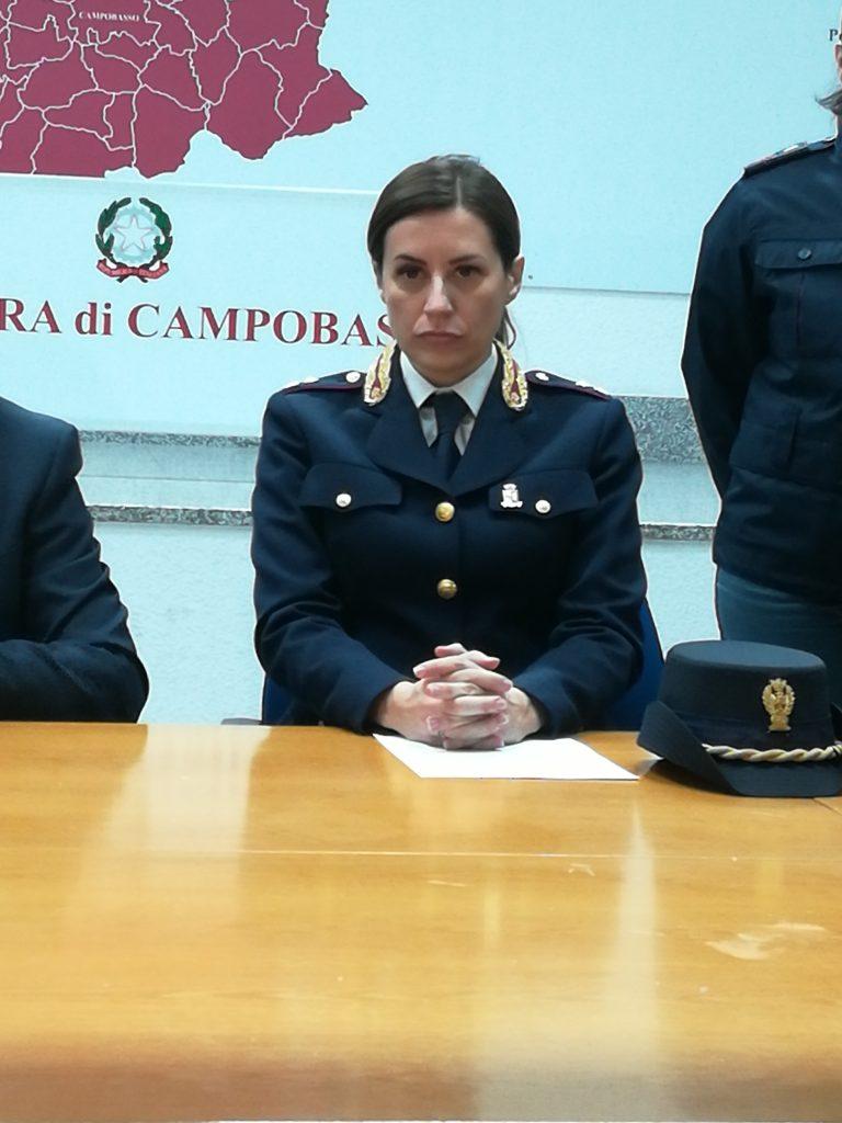 Campobasso, Mariapia Sabelli nuovo capo di gabinetto della questura