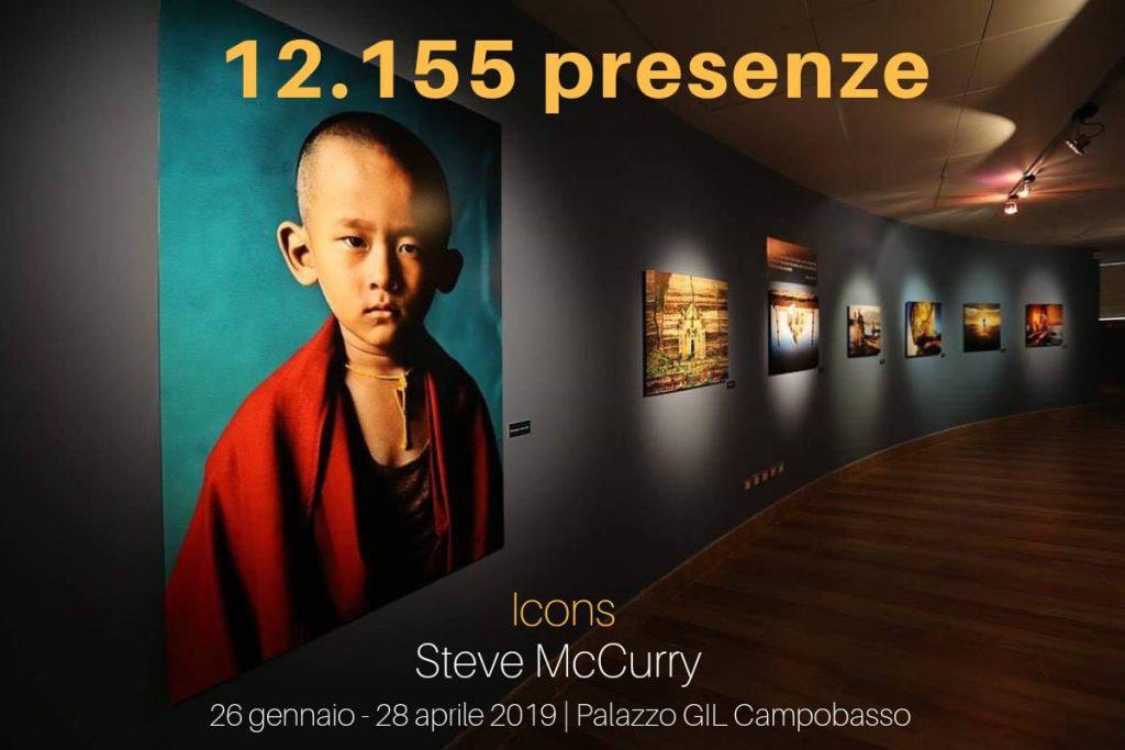 L'evento dei record: più di 12mila visitatori a Campobasso per la mostra di Steve McCurry