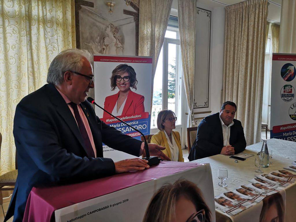 «Scegliere D'Alessandro significa scegliere Salvini»