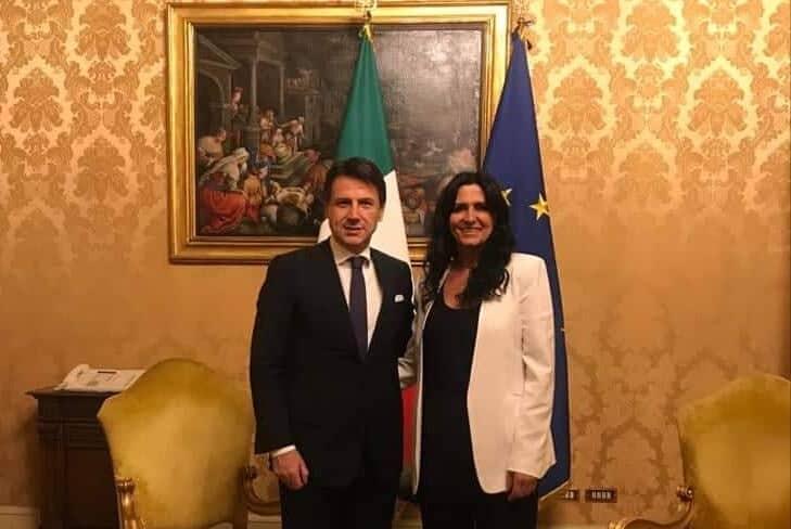 La signora dei tratturi incontra il premier Conte a Palazzo Chigi