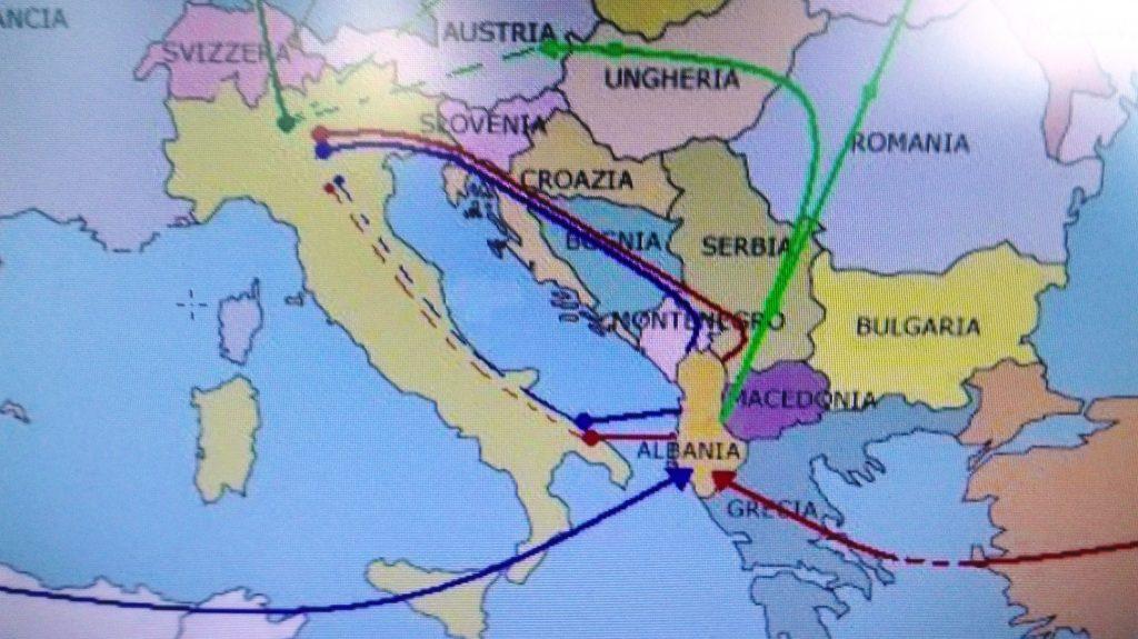 Dall'Albania arriva al Foggiano e poi nel nostro territorio: le due rotte della droga