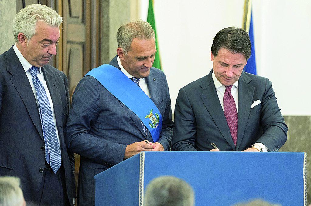 Conte rientra in partita da Foggia, ora «corsa per firmare il Cis Molise»