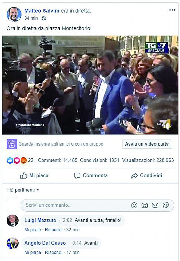 Mazzuto al fianco del leader: al voto perché l'Italia deve ripartire