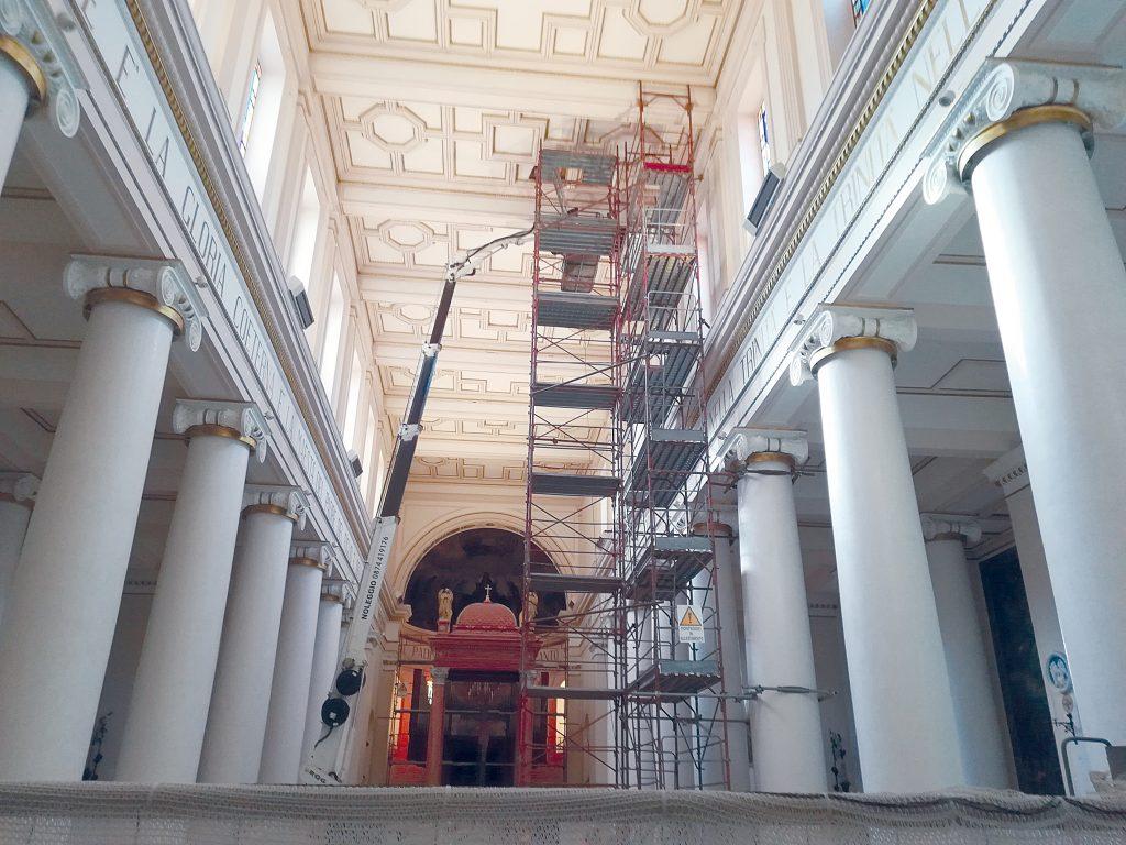 Cattedrale di Campobasso chiusa da quasi un anno, Tramontano sollecita sindaco e giunta