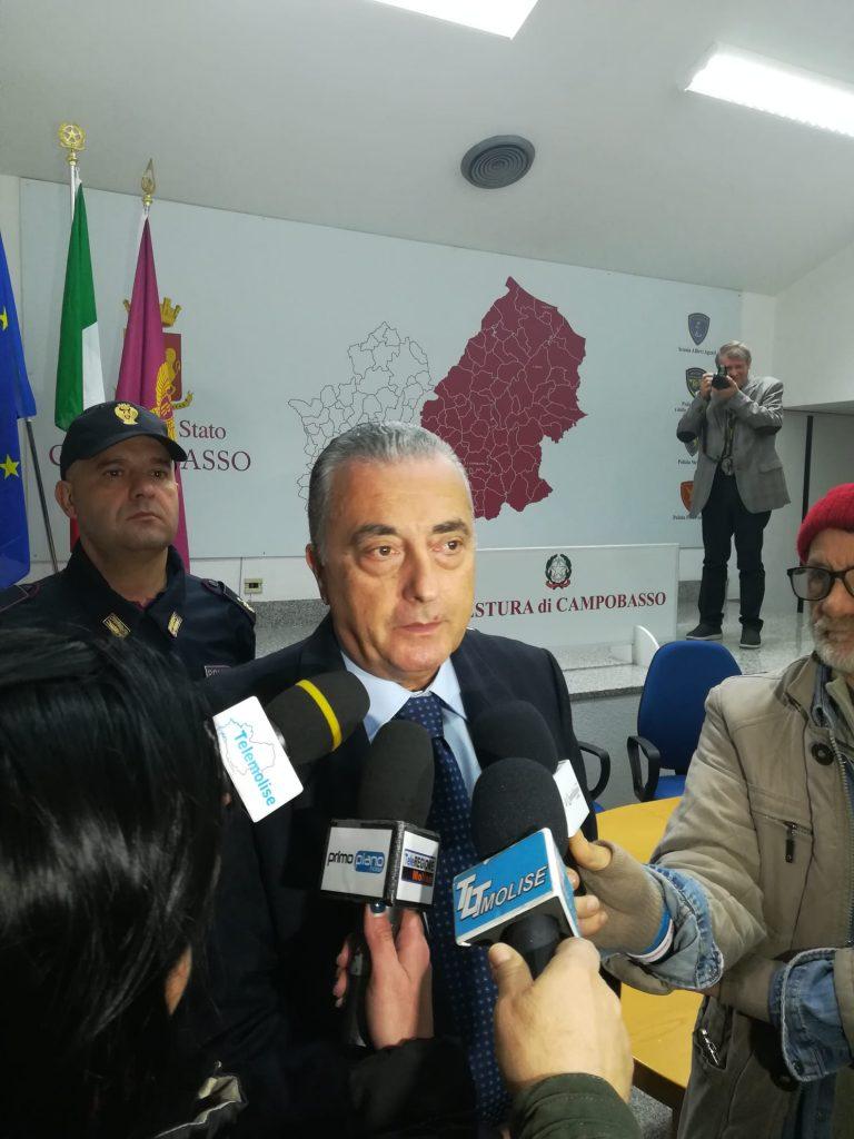 Sicurezza 'partecipata', la ricetta del nuovo questore di Campobasso Alberto Francini