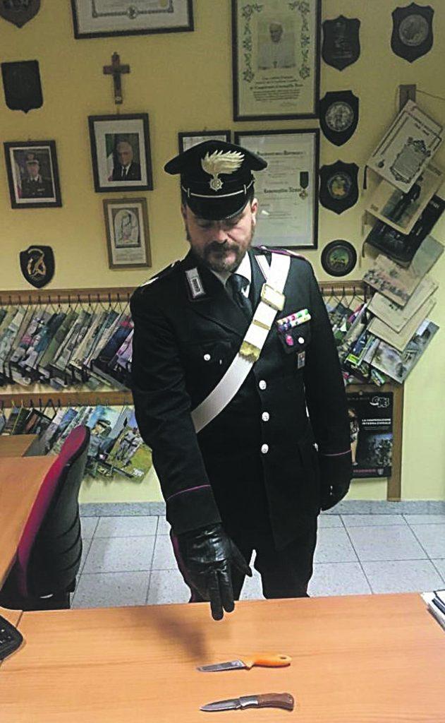 Furgone bianco sospetto a Cercepiccola: i Carabinieri 'beccano' due ucraini armati di coltello