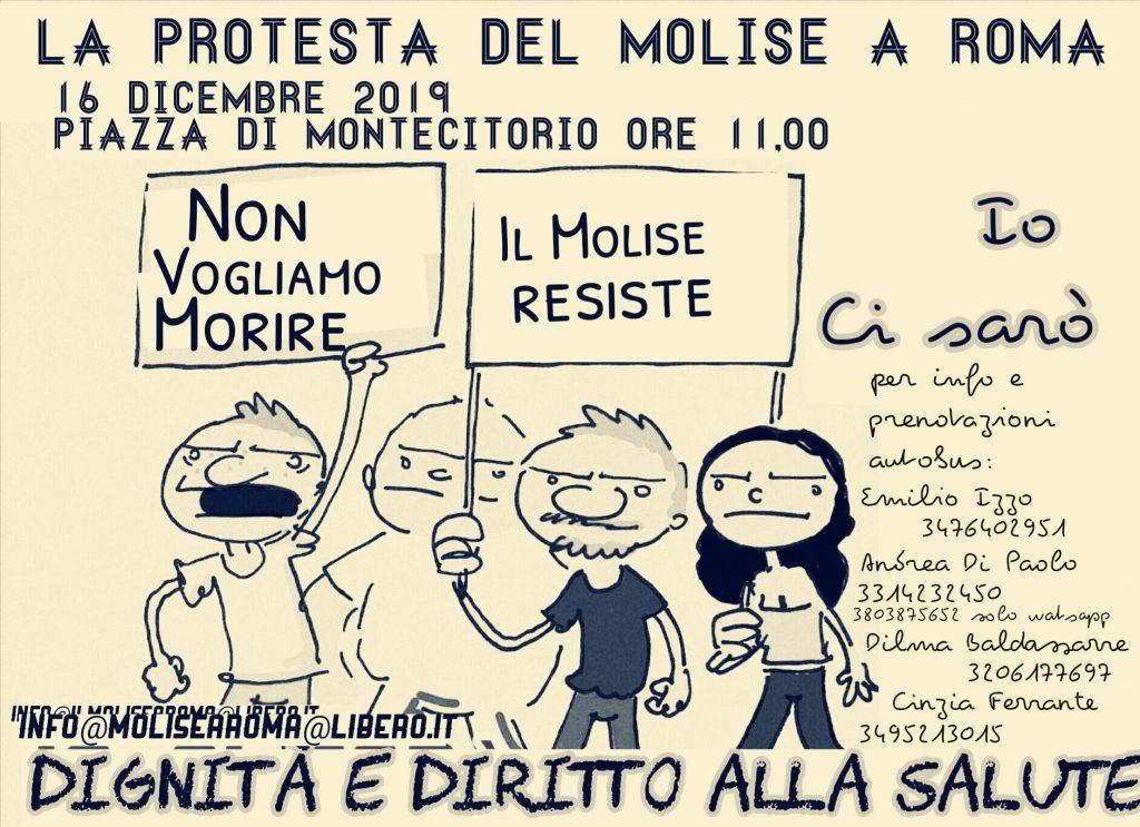 Sanità, la marcia su Roma del Molise