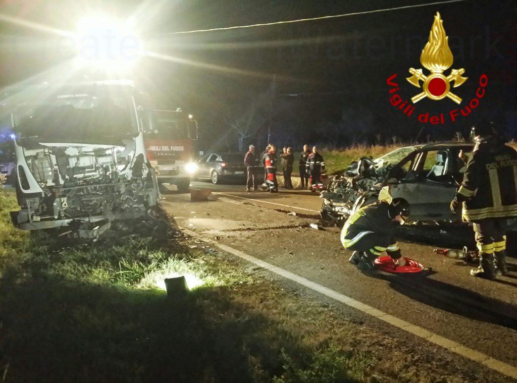 Frontale sulla strada per Riccia, un morto e un ferito