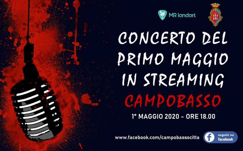 Maratona musicale, a Campobasso concerto del 1° Maggio in streaming