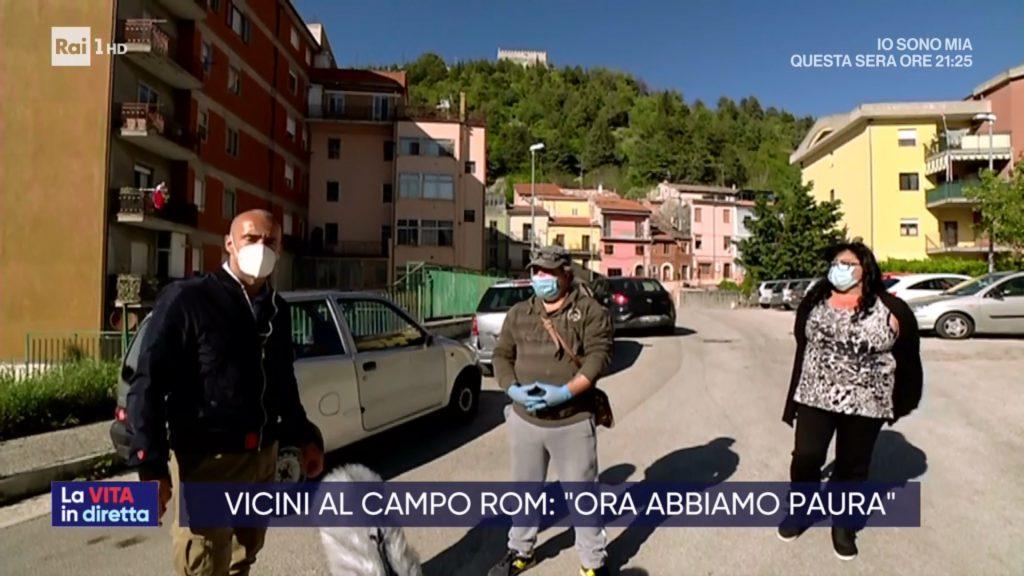 A Campobasso il cluster rom raggiunge quota 77, il caso finisce sui media nazionali