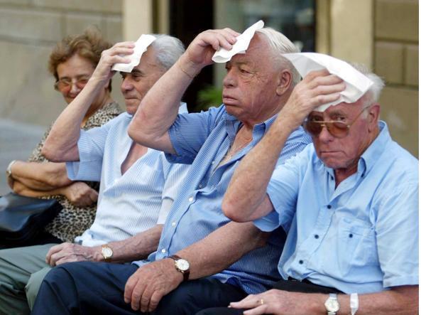 Campobasso, l'ondata di caldo non si arresta: bollino rosso anche domani