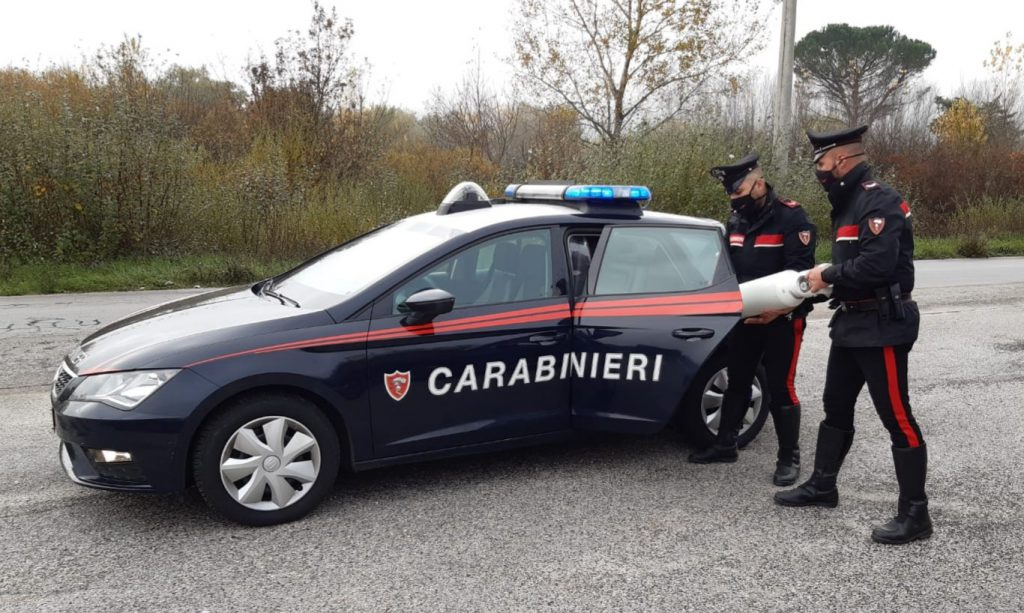 Sta finendo l'ossigeno, anziana di San Polo salva grazie ai Carabinieri